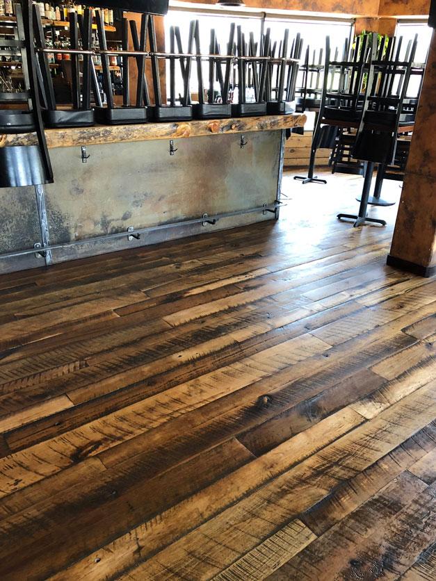 Mammoth Tavern. Historic Plank